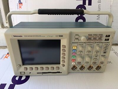 Calibrated Tektronix Tds 3054b Digital Phosphor Oscilloscope 500mhz 4ch 5gsasec