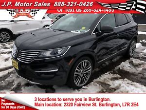 2015 Lincoln MKC Navi, Leather, Panoramic Sunroof, AWD, 36, 000k