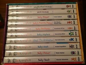 Baby Einstein DVD set of 10 Kitchener / Waterloo Kitchener Area image 1