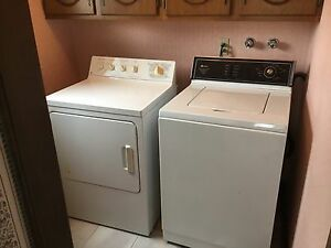 Washer & gas Dryer