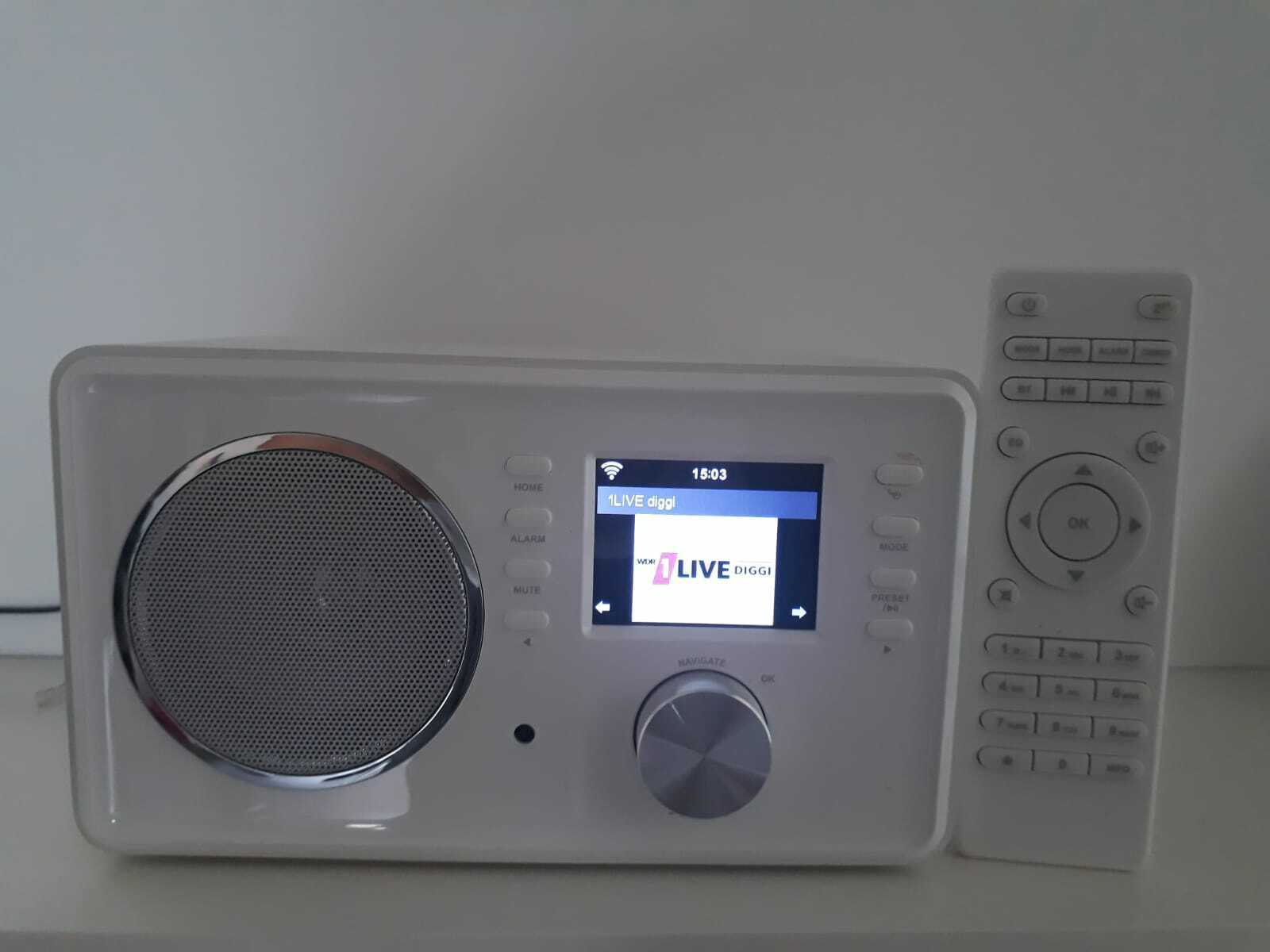 Internetradio WLAN Radio Wecker Timer Web Wetter Bluetooth