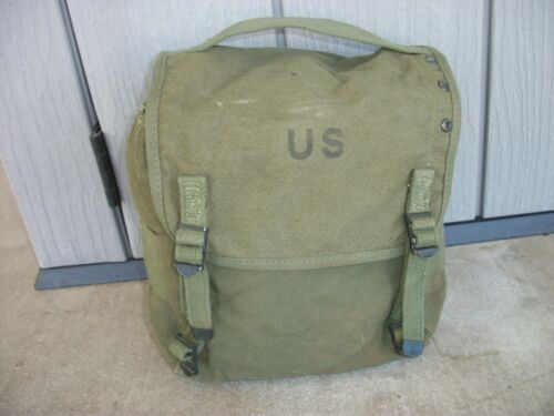 USGI M1956 Buttpack Vietnam Era Canvas 1st Pattern 1960 NICE CONDITION Original
