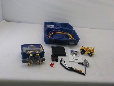 Yellow Jacket 40813 - Refrigeration System Analyzer Titan 4-valve Manifold