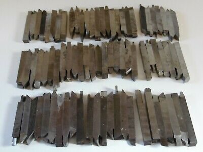 Lot Of 79 12 X 12 Inch Lathe Cutting Tools