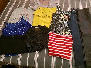 Size 6 bundle-sheike, witchery, superdry, miss shop, steel, Macquarie Fields Campbelltown Area Preview