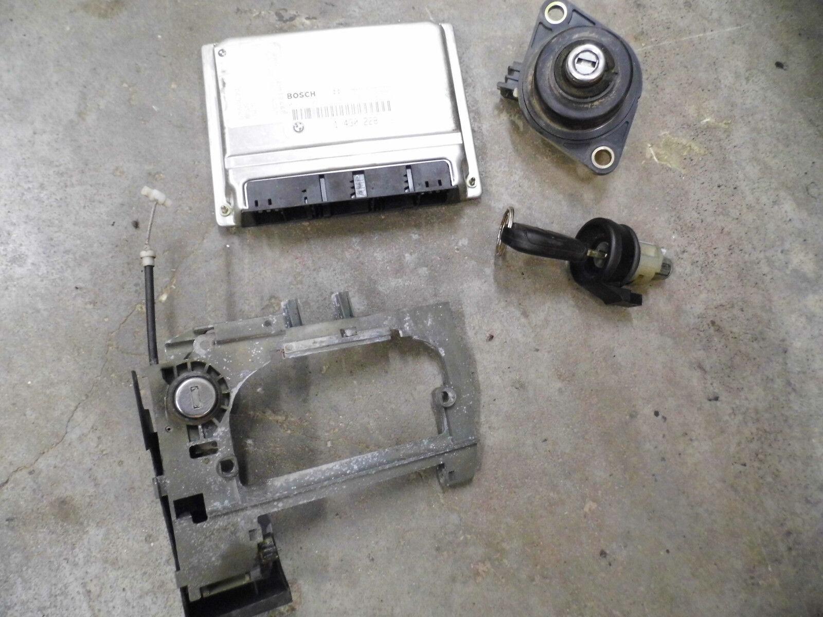 Used Bmw 740i Engine Computers For Sale E38 Dme Wiring 740il E39 540i Oem Ecu Key Tumbler Door Trunk Lock