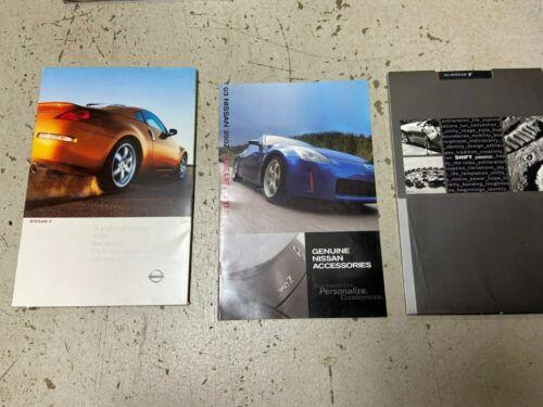 2003 2004 Nissan 350Z Z brochures brochure