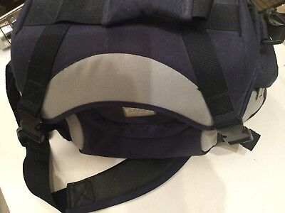 Blue & Silver Antler Camera & Video Bag Case Carrier Antler Camera Video Bag