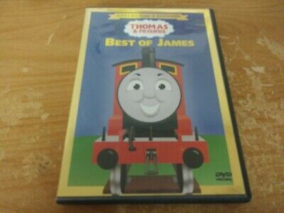 THOMAS & FRIENDS BEST OF JAMES COLLECTOR'S EDITION DVD MOVIE FILM DISC KIDS