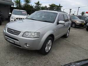 2004 Ford Territory AUTOMATIC GHIA 4X4 4WD 7 SEATER Wagon Lansvale Liverpool Area Preview