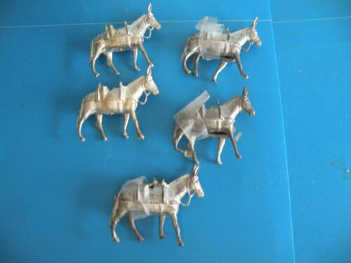 Donkey Mule Jack***Soldier military supply horse  lead toy new cast figures X39
