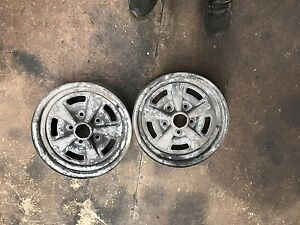 Holden HQ gts rims set or singles Pooraka Salisbury Area Preview