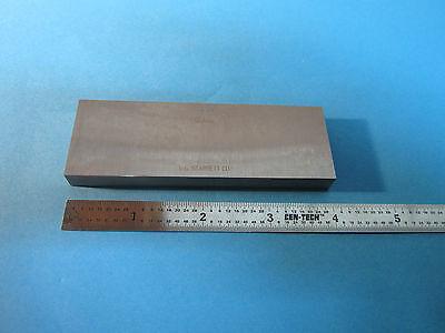 L.s. Starrett Webber 4 Standard Block Inspection Metrology Bin23