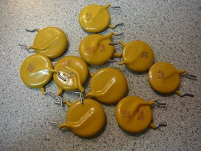 Maida Metal Oxide Varistor Mov 180vac230vdc 6000a 283v New Qty.10