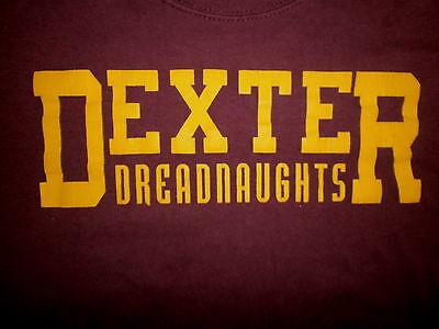 For sale DEXTER DREADNAUGHTS T SHIRT Michigan School Horne Name YOUTH XL