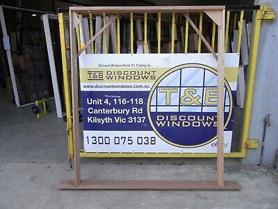 Timber Door Entry - 1920 H X 1590W (Item 3354)