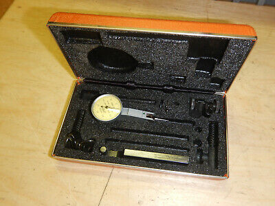 Brown And Sharpe Bestest 7030-10 .01mm Dial Test Indicator Swiss Made W Case