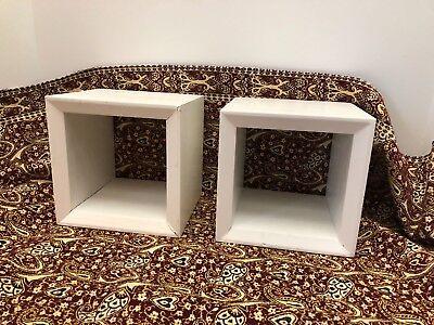 Deep Shadow Box - 2 Cube Shadow Box Square 6 1/2