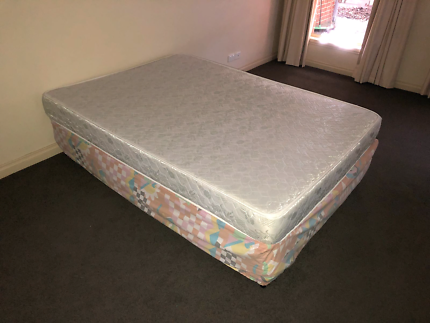 Double bed + base for free, pick up this sunday