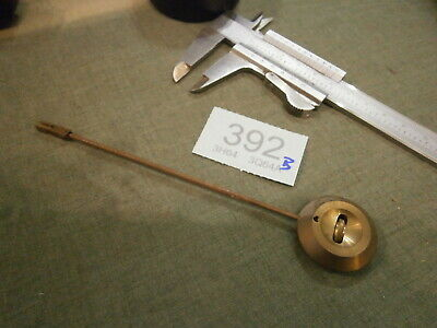 Clock PENDULUM from a movement French German spares mantle bracket wall 392B