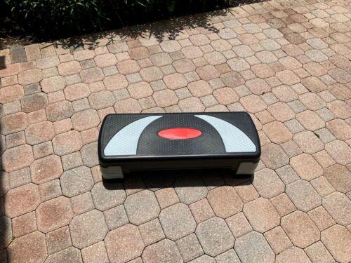 BalanceFrom Adjustable Aerobic Step Platform, 4 Removable Raisers Included