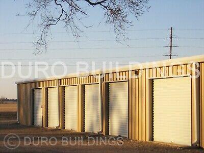 Duro Steel Mini Self Storage 30x60x8.5 Metal Prefab Building Structures Direct