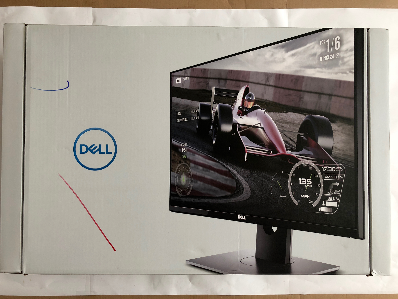 """Dell S2716DG LED with G Sync 27"""" Gaming Computer Monitor"""