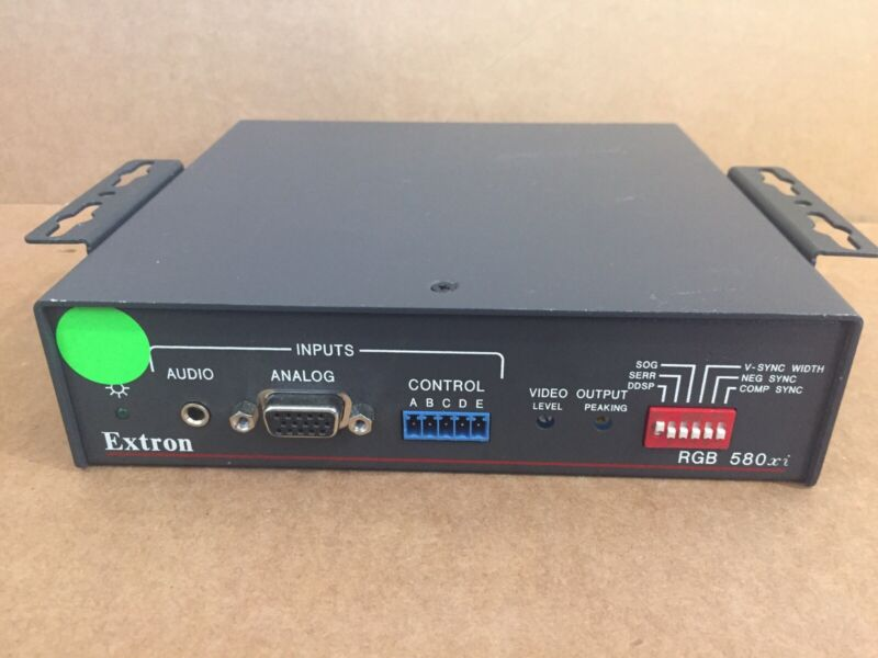 Extron RGB 580xi Remote Interface - w/ Power Cord