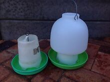 Chicken feed & water containers Mitcham Mitcham Area Preview