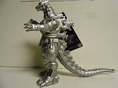 "Mechagodzilla Movie Monster 2004 Version 6.5"" tall Figure Japan Bandai"