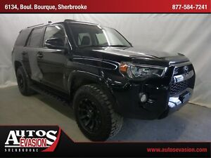2015 Toyota 4Runner SR5 V6 4 X 4 + CUIR +  GPS + TOIT + 7 PLACES