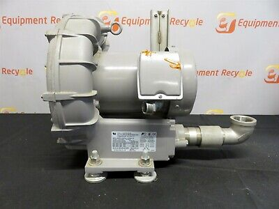 Fuji Electric Ring Compressor Vfc500a-7w Regenerative Blower 2 Pole 3 Phase