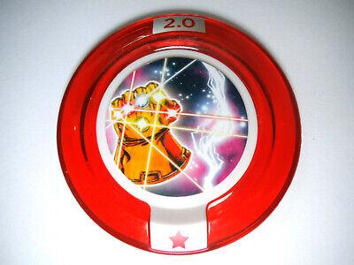 Infinity Gauntlet Rare Disney Infinity 2.0 Marvel Avengers Thanos Power Disc (Marvels Power Disc)