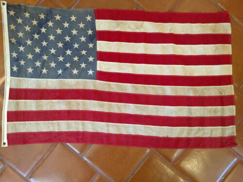 Boy Scouts of America 3x5 US Flag 1962  T-516 Antique B.S.A.