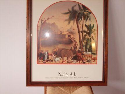 Framed Noah's Ark Print