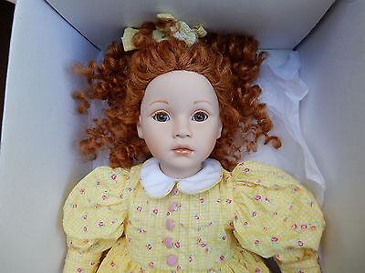 """Pauline Bjonness Jacobsen Limited Edition Porcelain Doll """"Ginger"""" #650 COA RARE"""