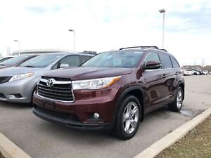 2016 Toyota Highlander Limited AWD - Off-Lease / One-Owner