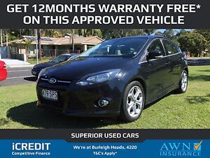 2012 Ford Focus Hatchback Sports Auto Burleigh Heads Gold Coast South Preview