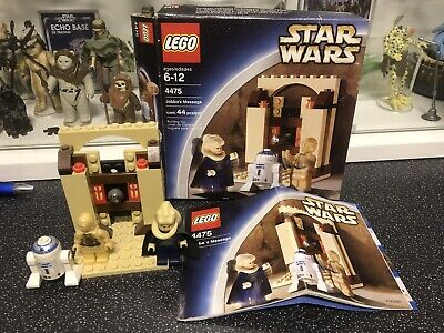 Lego Star Wars Jabba's Message 4475 Complete With Spares C-3PO R2-D2 Bib Fortuna