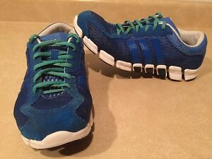 Men's Adidas ClimaCool Blue Running Shoes Size 8