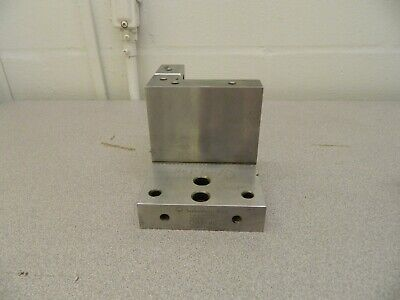 Suburban Tool Steel Precision-ground Angle Plate 4 Wide 6 Deep 4 High Cap46