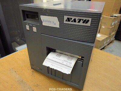 """SATO CL408E Parallel Thermo Label Drucker REWINDER 203dpi 4.1"""" 104mm - 14444.3 M"""