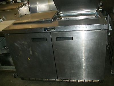 Sandwich Prep Table Delfield Ss Ext. Board And Pans 4 Ft. 900 Items E Bay
