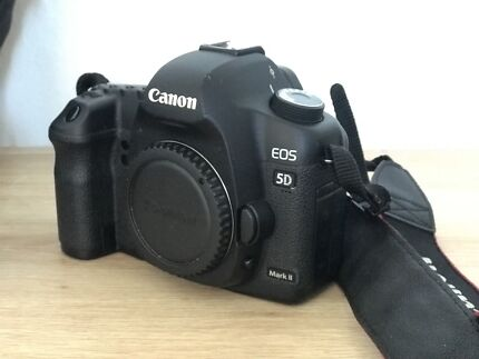 Canon 5d II + 50 mm 1.4 + accessories