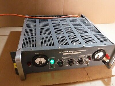 Lambda Regulated Power Supply Model Le 102 Fm