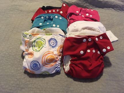 Wanted: Peapod cloth nappies size small only (3) left