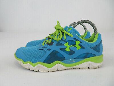 Under Armour Micro G Heatgear Running Shoes 1238600-472 Womens Size 8.5