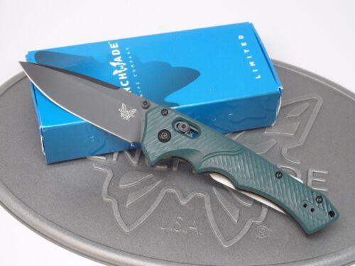 Benchmade 615BK-1501 Blackwood Mini Rukus Knife S30V Shot Show Many Numbers