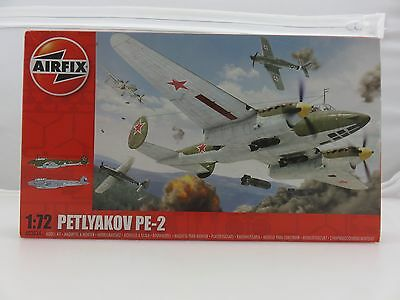 Airfix PETLYAKOV PE-2 1/72 Scale Plastic Model Kit UNBUILT