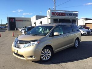 2011 Toyota Sienna LTD AWD - NAVI - DVD - LEATHER - SUNROOF